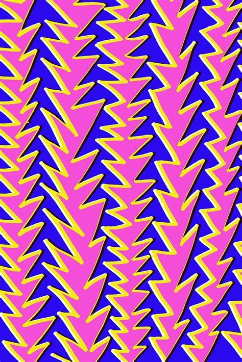 80s Graphic Design Pattern