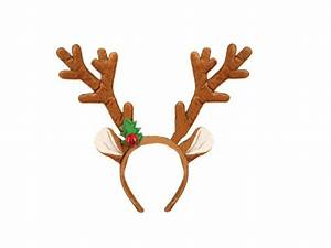 Christmas Headbands Hat Fancy Dress Hat Reindeer Antlers ...