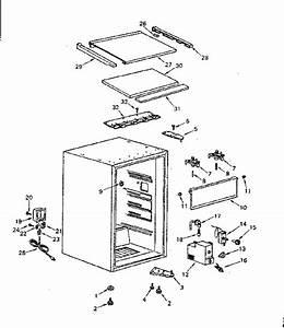 Kenmore Compact Refrigerator Door Parts