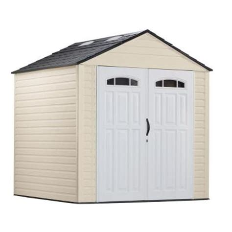 Rubbermaid Big Max Shed Assembly by Rubbermaid 7 Ft X 7 Ft Plastic Storage Shed
