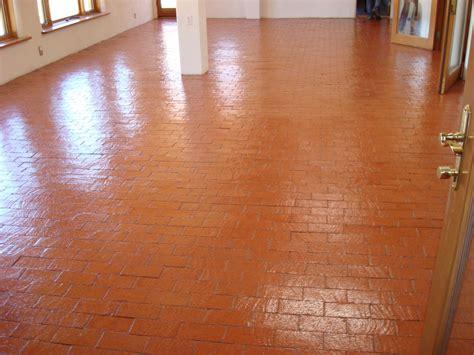 brick floors shiny cleaned and sealed brick floors mofab
