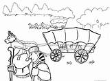 Wagon Coloring Covered Trail Oregon Pages Train Drawing Trains Adult Printable Conestoga Getcolorings Camera Deviantart Getdrawings Toy sketch template