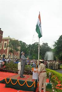 Flag, Hoisting, Ceremony, On, Independence, Day, 15th, August, 2018