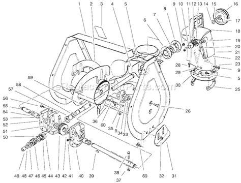 Toro Parts List Diagram