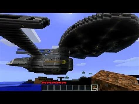 minecraft   create  uss enterprise youtube
