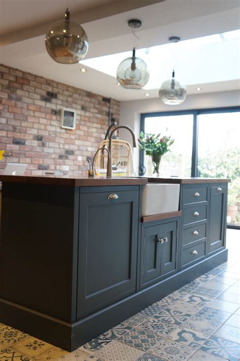 industrial style shaker kitchen lancaster handcrafted kitchens