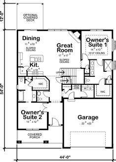 rectangle house plan   bedrooms  hallway  maximize space dream home   house