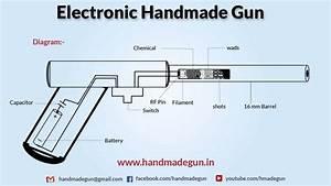 Electronic Handmade Gun - Diagram