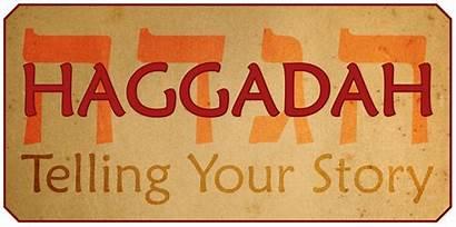 Haggadah Telling Story Jewish