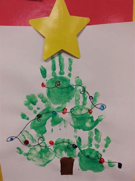pre k christmas tree craft gift ideas pinterest
