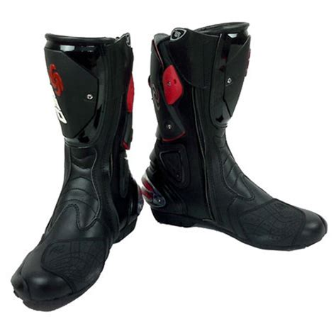 motorcycle street racing boots new motorcycle street bike biker racing boots black size