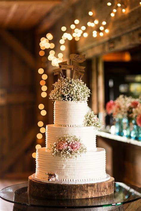 shabby chic wedding cake decorations 17 wedding cake decorating ideas perfect for rustic weddings ideal me