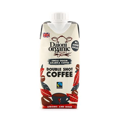 There are no frappachinos, chai, or scones. Daioni Organic Double Shot Coffee 330ml - UK* - South ...