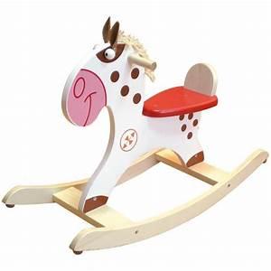 Cheval En Bois à Bascule : cheval bascule en bois poney indien scratch europe ~ Teatrodelosmanantiales.com Idées de Décoration