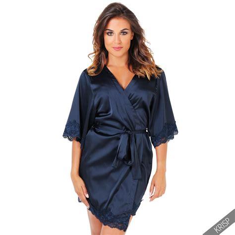 robe de chambre dentelle femmes robe de chambre kimono dentelle