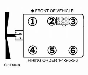 Firing Order  Need A Coil Diagram For A 2004 Mazda B