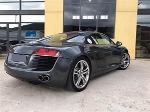Audi R8 Prix Occasion : audi r8 i v8 4 2 fsi quattro r tronic 420ch coup gris fonc occasion 62 000 53 500 km ~ Gottalentnigeria.com Avis de Voitures