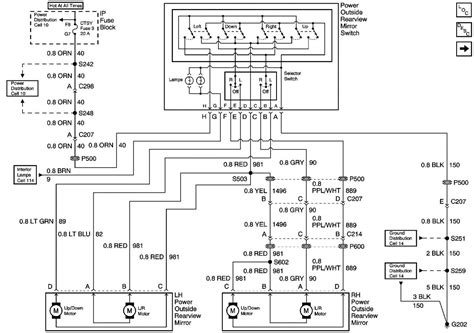 Tahoe Power Mirror Wiring Diagram Forum Buick