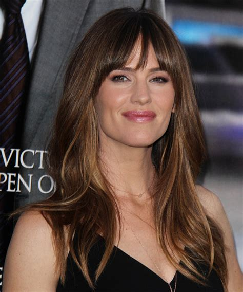 Jennifer Garner Long Straight Casual Hairstyle with