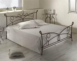 Bett Metall Schwarz : doppelbett aus metall in 140x200 cm anthrazit porco ~ Indierocktalk.com Haus und Dekorationen