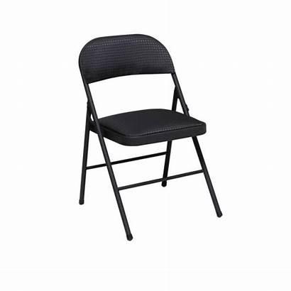 Chair Folding Cosco Clipart Vinyl Office Seat