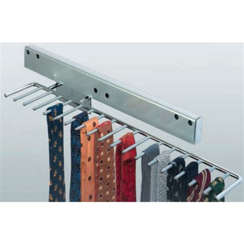 hafele pull out tie rack holds 17 ties kitchensource
