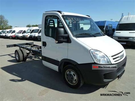 Iveco Daily Iii 35c15 2008 Chassis Truck Photos And Info