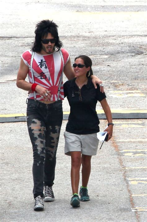 russell brand rock of ages russell brand films rock of ages zimbio