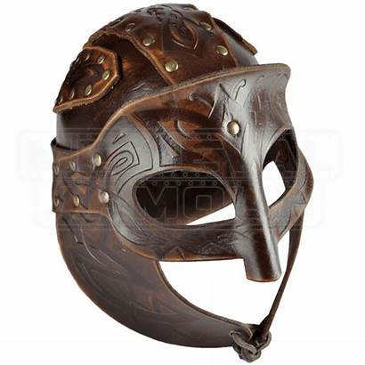 Viking Helmet Leather Armour Helmets Chainmail Medieval