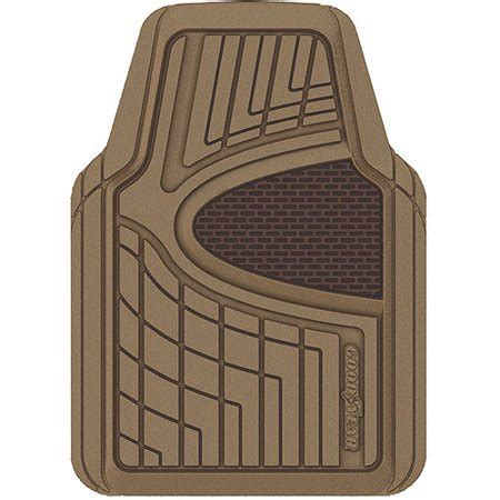 goodyear floor mats goodyear rubber floor mats 4pk walmart