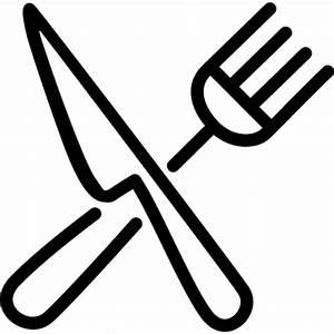 Crossed knife and fork ⋆ Free Vectors, Logos, Icons and ...