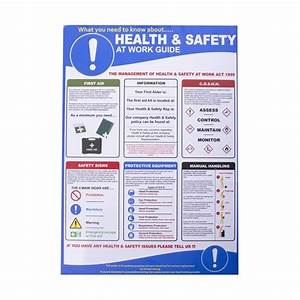 Health And Safety At Work Poster