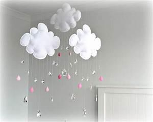 Deco Chambre Bebe Nuage : decoration theme nuage ~ Teatrodelosmanantiales.com Idées de Décoration