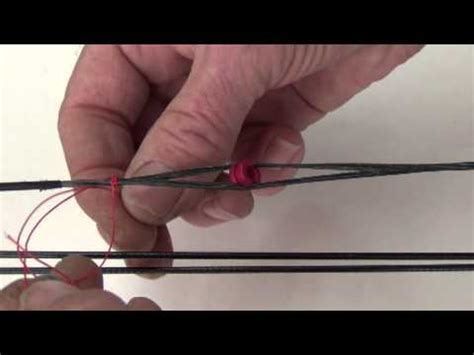 How To Install A Peep Sight Youtube