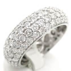 garnet wedding ring set 3 20ctw eternity four row 39 s wedding band b3