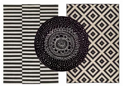 ou trouver  tapis graphique noir  blanc joli place