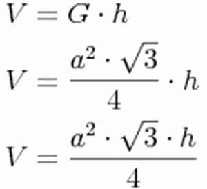 Gleichschenkliges Dreieck C Berechnen : volumen ~ Themetempest.com Abrechnung