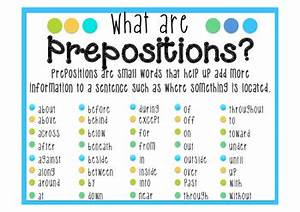 what is a preposition - 28 images - prepositional phrases ...