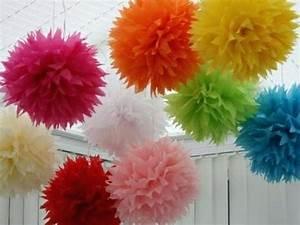 Party Deko 24 : party deko selber machen kugeln aus papier in bunten farben 24 verbla 1 4 ffende ideen fa r ~ Orissabook.com Haus und Dekorationen