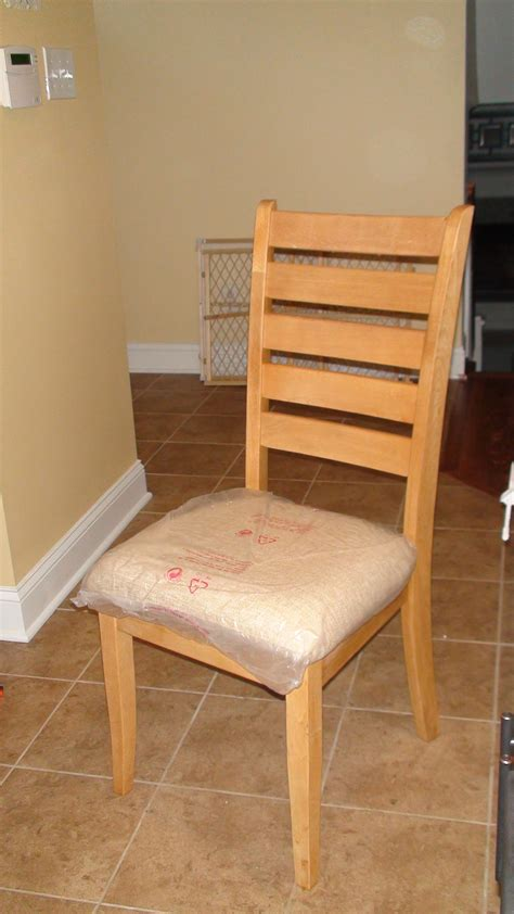 Kitchen Chairs by Reupholstered Kitchen Chairs One Home Made