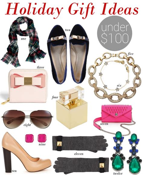 holiday gift ideas under 100 by lynny
