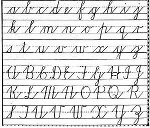 Cursive Letters   Cursive Letters