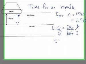 Round Trip Time Berechnen : ultrasound physics round trip time calculation youtube ~ Themetempest.com Abrechnung