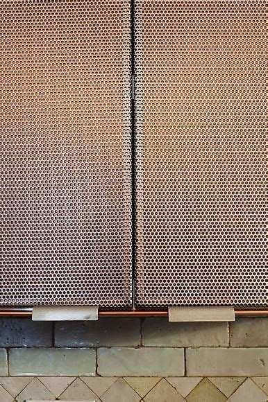 Copper, Perforated metal and Metal screen on Pinterest