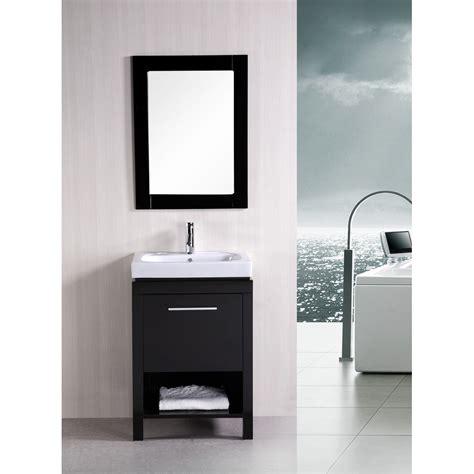 design element new york 24 quot contemporary bathroom vanity