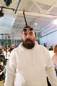 The Fat Jewish at Karen Walker's New York Fashion Week ...