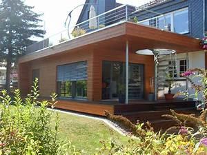 Holzanbau Am Haus : haus mit b ro architekt ~ Markanthonyermac.com Haus und Dekorationen
