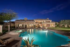 homes with two master bedrooms 5 1 million santa barbara style estate in scottsdale az