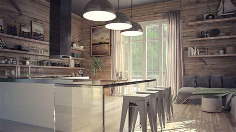 rustic modern kitchen design 22 appealing rustic modern kitchen design ideas home 5014