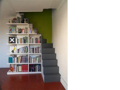 chambre dessin escalier bibliothèque opc